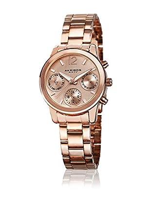 Akribos XXIV Reloj con movimiento cuarzo suizo Woman AK709RG Rosado