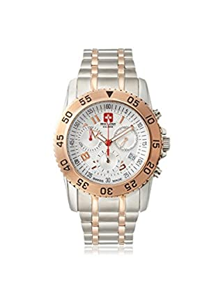 Swiss Military Calibre Men's 06-5C6G Chronograph Silver/White Stainless Steel Watch