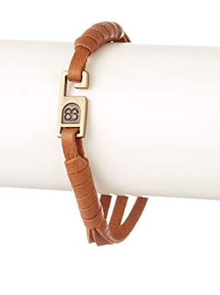 Griffin Tan Paxton Leather Bracelet