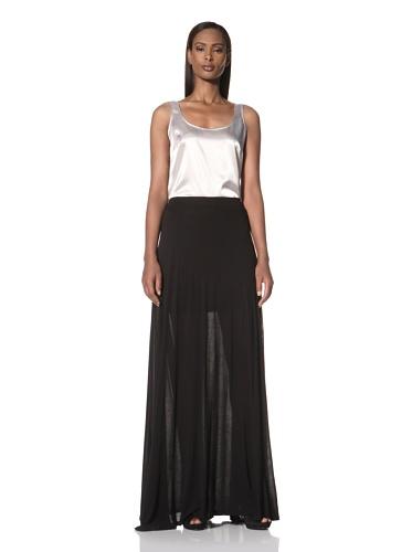 Nation LTD by Jen Menchaca Women's Silver City Long Skirt (Black)
