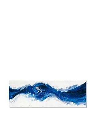 PlatinArt Cuadro Blue Magic Wave 55 x 160