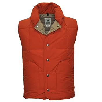 Down Sierra Vest 7981: Orange