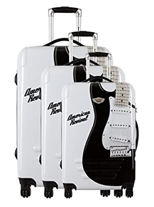 American Revival Set 3 Trolley Guitare (Bianco)