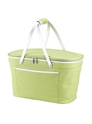 Picnic at Ascot Collapsible Basket Cooler (Green)