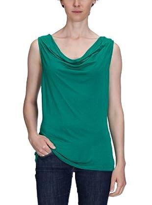 Vero Moda Camiseta Victoria (Verde Ultramarino)