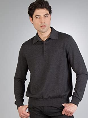 Hugo Boss Jersey Bordado (gris)