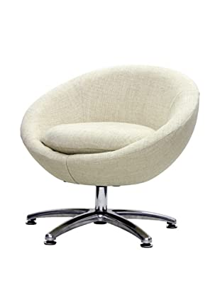 Overman International Five Prong Base Astro Chair, Oatmeal