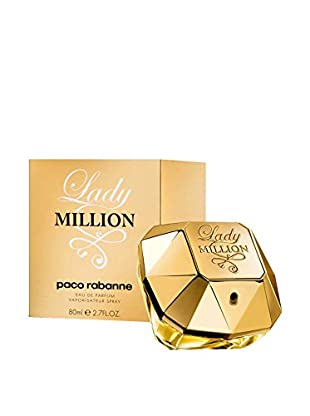 PACO RABANNE Damen Eau de Parfum Lady Million 80.0 ml, Preis/100 ml: 77.49 EUR
