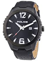 Police Analog Black Dial Men's Watch - PL13592JSB/02