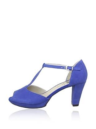 Caprice  Zapatos Peep Toe Gabriela (Azul Royal)