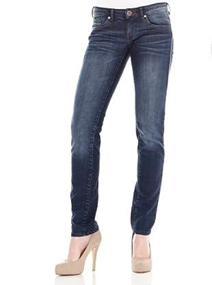 Calvin Klein Jeans Vaquero 5 Bolsillos Stretch (Azul)
