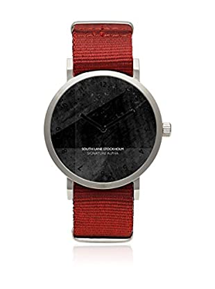 South Lane Reloj de cuarzo Unisex South Lane Signature Alpha Soft Red 40 mm