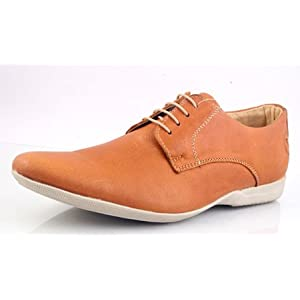 Banish Leather Mens Shoes Teak - 39003