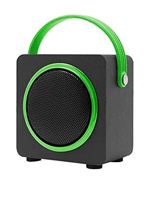 ZZ-UNOTEC Altavoz Bluetooth Njoy Verde