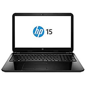 HP 15-r036TU 15.6-inch Laptop (Sparkling Black) with Laptop Bag