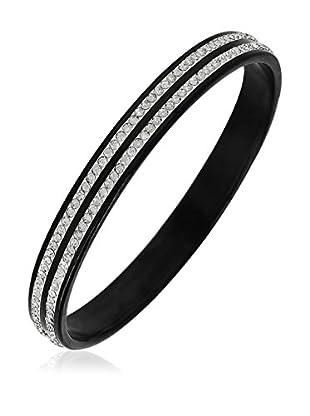 ART DE France Armband 2 Lines schwarz