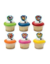 DecoPac 36391 Paw Patrol Ruff Rescue Cupcake Rings (12 Count)