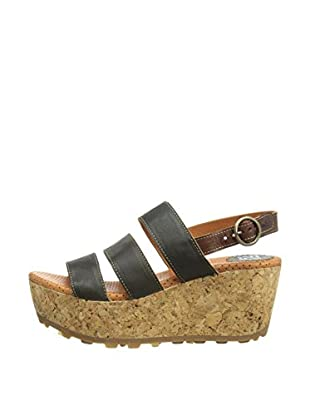 Fly London Sandalias Mest (Antracita)