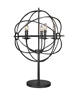 Tottenham Court Obi Table Lamp, Natural Iron