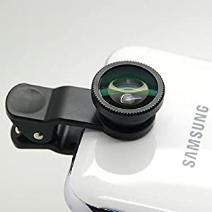 Universal Clip Super Wide 0.4X Camera Lens For iPhone Samsung HTC LG Micromax