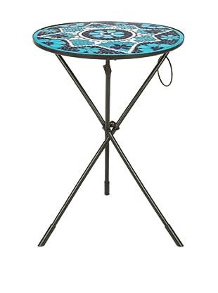 Safavieh Solinus Side Table, Blue/White