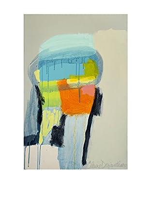 "Claire Desjardins ""Fasten Your Seatbelt"" Embellished Giclée Print"