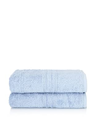 Chortex 2-Piece Imperial Bath Sheet Set, Bluebell