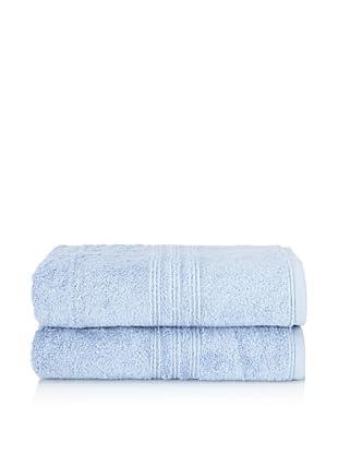 Chortex 2-Piece Imperial Bath Sheet Set, Bluebell