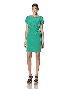 Donna Morgan Women's Side Tie Dress (Lime)
