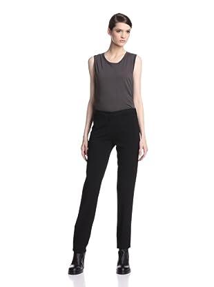 Ann Demeulemeester Women's Wovi Slim Trouser (Black)