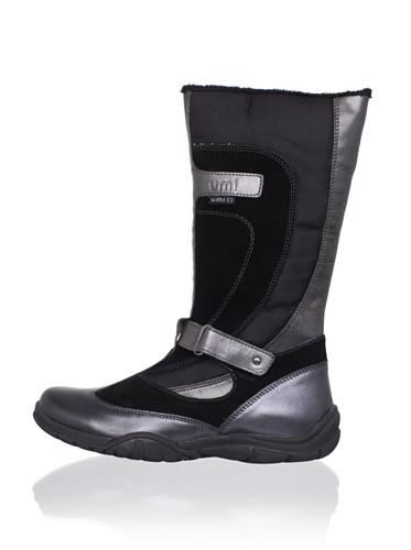 umi Kid's Baylle Boot (Todler/Little Kid/Big Kid) (Black)