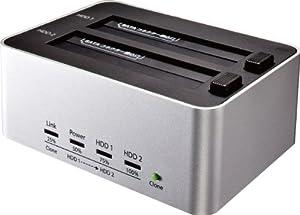 玄人志向 HDDスタンド USB3.0接続 KURO-DACHI/CLONE/U3