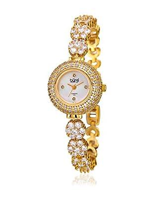 Bürgi Uhr mit japanischem Quarzuhrwerk Woman goldfarben 25 mm