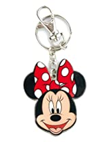 Disney Minnie Two Sided Colored Pewter Key Ring