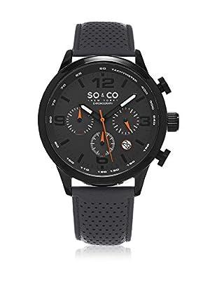 SO & CO New York Uhr mit japanischem Quarzuhrwerk Man GP16111 45 mm