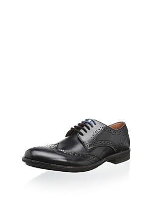 Ben Sherman Men's Prince Wingtip Oxford (Black)