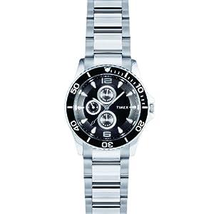 Timex F801 E Class Black Dial Men's Watch