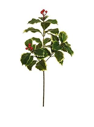 Evergreens Colgante Árbol 24 Piezas Rojo