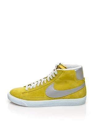 Nike Botas Blazer Mid Prm Vintage Suede (Amarillo)