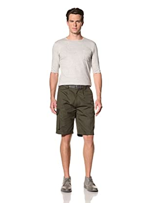 Camo Men's Falletti Pocket Shorts (Dark Green)