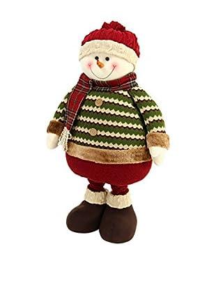 Decoracion Navideña Figura Navidad Muñeco Nieve Extensible