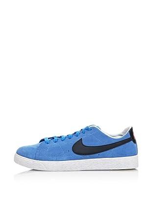 Nike Zapatillas Nike Blazer Low (Gs) (Celeste / Marino)