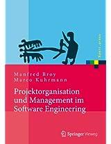 Projektorganisation und Management im Software Engineering (Xpert.press)