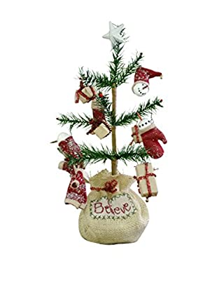 Christmas Believe Feather Tree