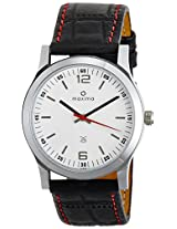 Maxima Attivo Steel Analog White Dial Men's Watch - 20880LMGI