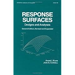 【クリックで詳細表示】Response Surfaces: Designs and Analyses: Second Edition (Statistics: A Series of Textbooks and Monographs) [ハードカバー]