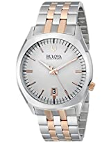 Bulova Accutron II Analog Silver Dial Men's Watch - 98B220