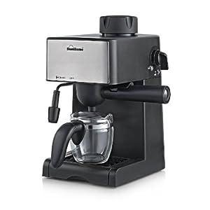 Sunflame SF-712  4-Cups 800-Watt Espresso Machine (Black)