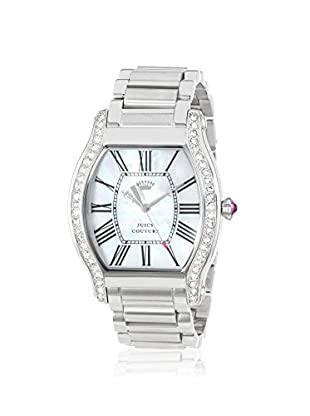 Juicy Couture Women's 1901085 Dalton Silver/Mother of Pearl Stainless Steel Watch
