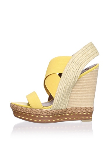 Boutique 9 Women's Isabella Sandal (Yellow)